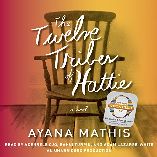 The Twelve Tribes of Hattie (Oprah's Book Club 2.0)                   By:                                                                                                                                 Ayana Mathis                               Narrated by:                                                                                                                                 Adenrele Ojo,                                                                                        Bahni Turpin,                                                                                        Adam Lazarre-White                      Length: 10 hrs and 16 mins     1,080 ratings     Overall 3.9
