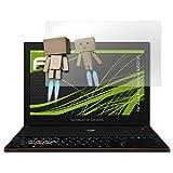 atFolix Bildschirmfolie kompatibel mit Asus Rog Zephyrus GX501VI Spiegelfolie, Spiegeleffekt FX Schutzfolie
