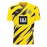 Puma Herren BVB Home Authentic Trikot 20/21 T-Shirt, Cyber Yellow Black, XL