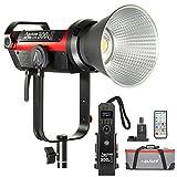 Aputure COB 300D II LS C300d II Luz de Video LED, CRI96 + TLCI97 +, 55000lux@0.5M, 5500k Daylight, 8 Efectos de iluminación incorporados, Control Remoto inalámbrico 2.4G 100m-V Mount