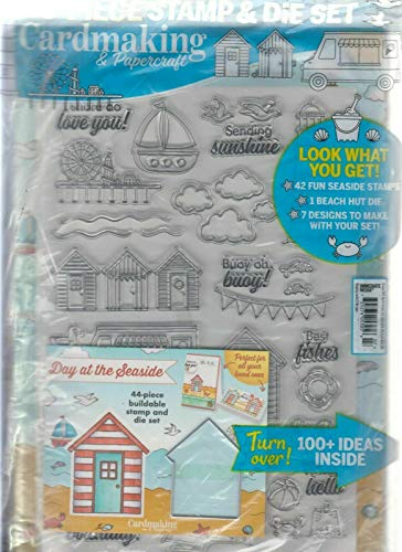 CARDMAKING & PAPERCRAFT MAGAZINE #207 APRIL 2020, WITH 43 PCS STAMP & DIE SET. Product
