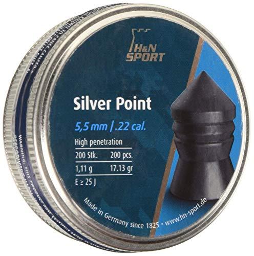 H&N Sports Silver Point - Balines H&N Silver Point Unisex, Talla 5.5 mm