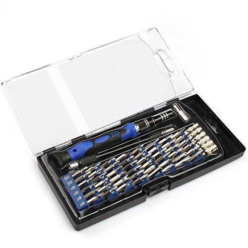 VOXON Set di Punte per Cacciavite Magnetico da 56 Pezzi, con Cacciavite Professionale XR, Cacciavite di Precisione, Kit di Riparazione per Elettronica