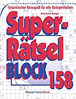Krueger, E: Superraetselblock 158