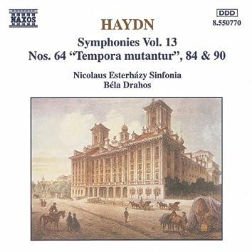 HAYDN: Symphonies, Vol. 13 (Nos. 64, 84, 90)