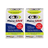 Macu-SAVE Food Supplement for Macular Health with Meso-Zeaxanthin/Lutein and Zeaxanthin - 180 Capsules (6 Months Supply)