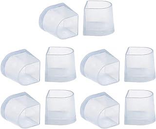 SUPVOX 5 Paia di Protezioni per Tacchi Alti Tappi per Tacchi Trasparenti Protezioni a Spillo Puntali di Ricambio per Erba ...