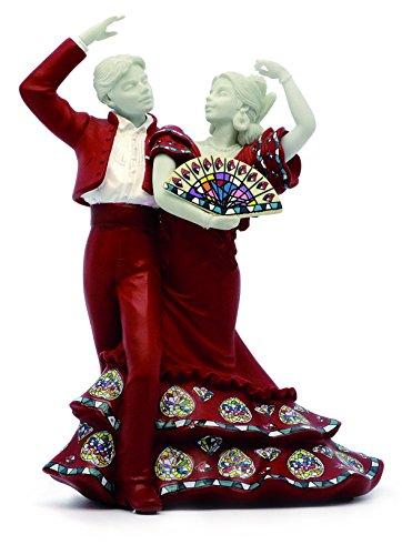 Nadal Figura Decorativa Baile Flamenco, Resina, Multicolor, 7.80x11.20x15.00 cm