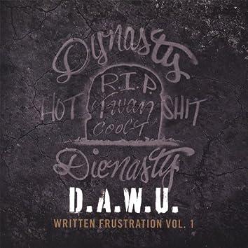 Written Frustration Vol. #1