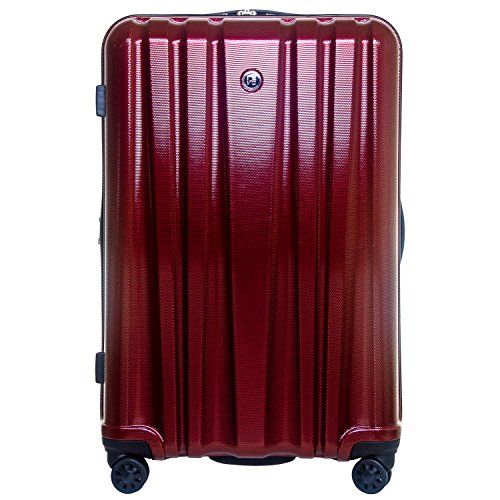 Revo Impact Expandable Hardside Spinner, 25', Burgundy, One Size