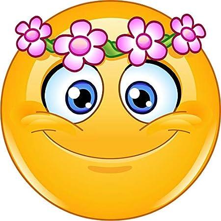 Smileys blumen ▷ Blumen: