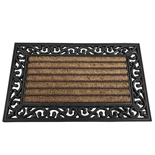 Siena Garden Fußmatte, Impalla, Schmutzfang, schwarz/natur, 45x75cm, 548188