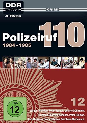 Polizeiruf 110 - Box 12: 1984-1985 (DDR TV-Archiv) [Neuauflage in Softbox]