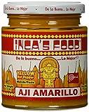 Inca's Food Aji Amarillo Paste - Hot Yellow Peruvian Pepper Paste 7.5 oz (3 PACK)