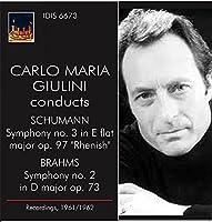C.M.Giulini conducts Schumann & Brahms by C.M. Giulini (2013-09-24)