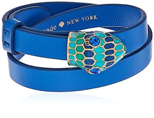 Kate Spade New York Snake Blue Wrap Bracelet
