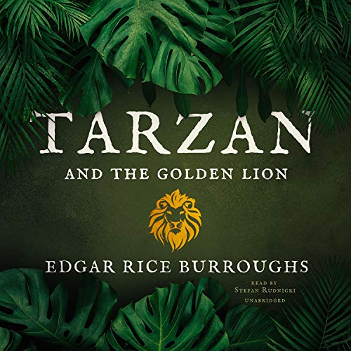 Tarzan and the Golden Lion cover art