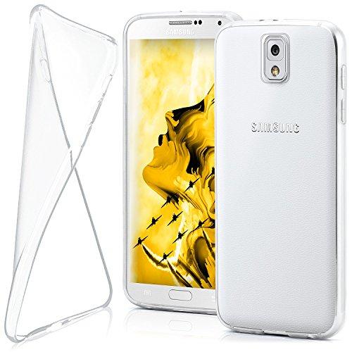 MoEx® AERO Case Transparente Handyhülle kompatibel mit Samsung Galaxy Note 3 | Hülle Silikon Dünn - Handy Schutzhülle, Durchsichtig Klar