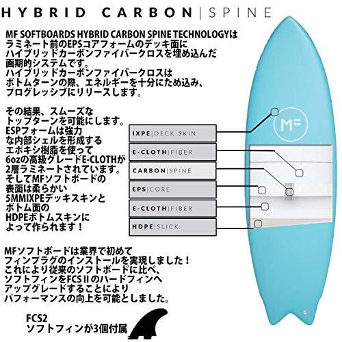 ミックファニングソフトボードサーフボードDHDTWIN5'8ディーエイチディーツインMICKFANNINGSOFTBOARD2021年モデル品番F20-MF-TWI-508MFsoftboardsシリーズ日本正規品5'8ISLANDPARADISE