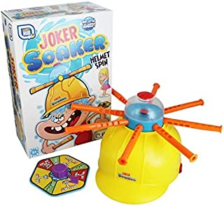 RMS International Joker Soaker Water Roulette Children's Hat Game Whoever Gets A Wet Head Loses for Ages 5+