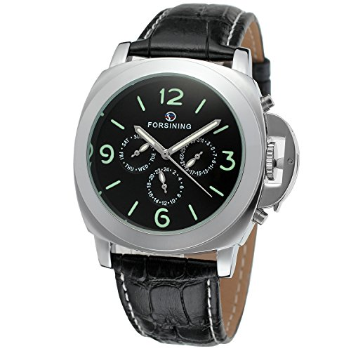 Forsining Men's High-end Automatic Genuine Leather Wrist Watch