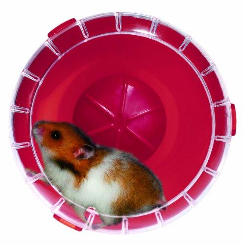 RodyLounge - Ruota silenziosa mini ciliegia Silent Wheel mini diametro 11 cm circa per criceti nani e topi