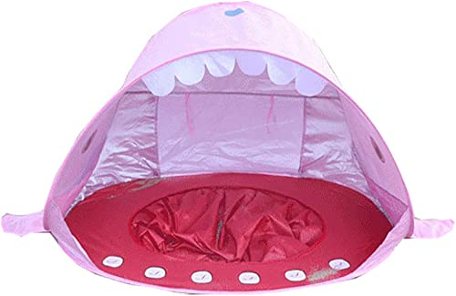 Envío y cambio gratis. Wadwo Diseño Creativo de Peces de tiburón de Playa Playa Playa para diversión en Interiores y Exteriores, Juegos imaginativos y Regalos   Juguete de casa de Juegos Plegable para Niños y niñas  mas barato