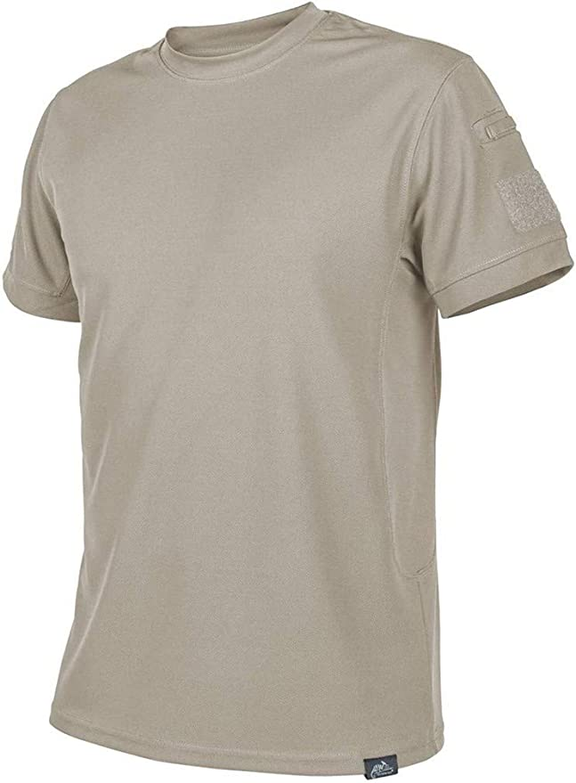 Helikon Hombre Camiseta Táctica Caqui