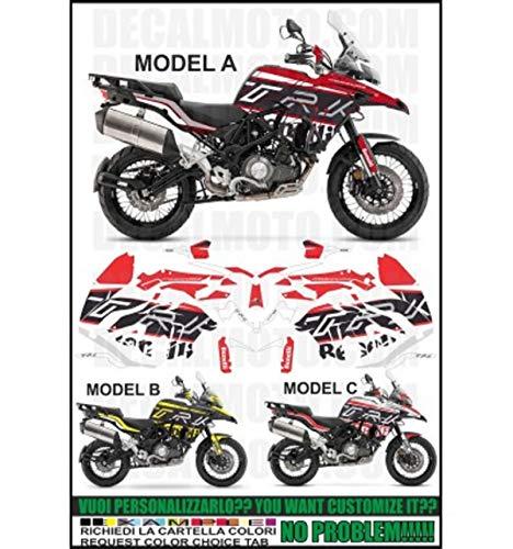 psler Moto Interno Cerchione Decalcomanie Adesivi Per Benelli TRK502