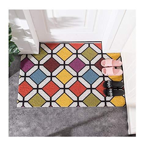 Qianqingkun Prachtige afwerking deurmat deurmat - wasbare deur slip antislip voettapijt