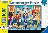 Ravensburger Puzzle, Minions, Puzzle 100 Piezas XXL, Puzzles para Niños, Edad Recomendada...