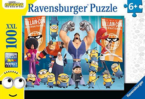 Ravensburger Puzzle Minions, Puzzle 100 Pezzi XXL, Età Consigliata 6+, Puzzle per Bambini, Stampa di Alta Qualità, 12915 7