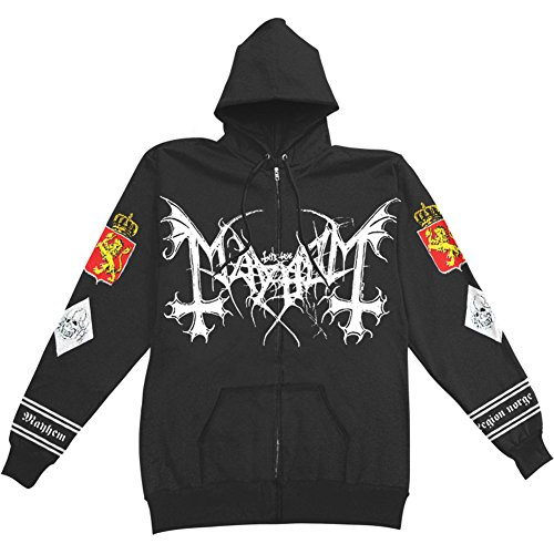 Mayhem - Legion Norge Zip-Hood/Kapuzenjacke