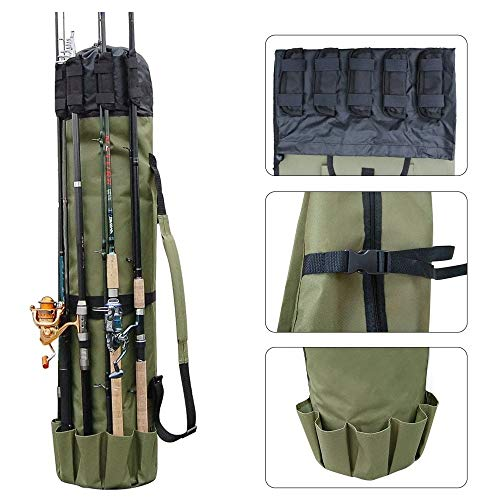 "Etna Fishing Rod Case Organizer,48.5"" x 13.5"""
