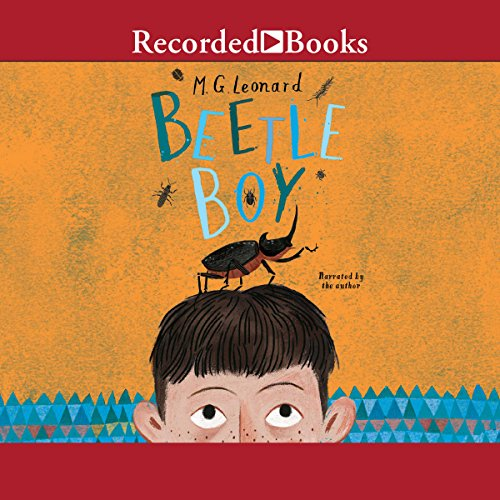 Beetle Boy audiobook cover art