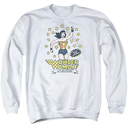 DC - Dc - Männer Action Figure Sweater, XXX-Large, White