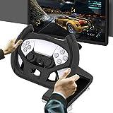 Fbewan Ajustable Carreras Soporte De Volante para PS5 DualSense Controller Playstation 5 Consola Playstation Controlador Joystick Gamepad Pad