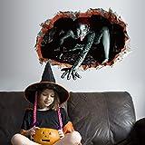 Autoaufkleber Aufkleber Fensteraufkleber Glas Aufkleber Sk6044 Halloween Alien weiblichen Geist Spukhaus Horror Atmosphäre Szene Glaswand