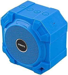 STREETZ V2.1 + EDR 5 W IPX5 vattentät Bluetooth-högtalare – blå