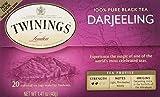 Twinings Darjeeling Tea, Tea Bags, 20 Count (Pack of 2)