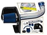 Cold Air Intake System with Heat Shield Kit + Filter Combo BLUE Compatible For 09-14 CadillacEscalade Chevy Silverado Suburban Tahoe Gmc Sierra Yukon 5.3L/6.0L