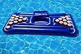 floatgoat Riesiger aufblasbarer Pool Pong Luftmatratzen. Aufblasbarer Bierpong Pool Floß Durch...