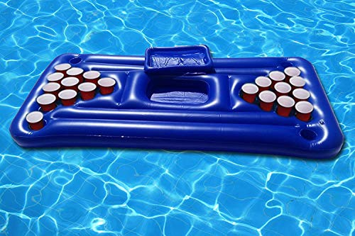 floatgoat Riesiger aufblasbarer Pool Pong Luftmatratzen. Aufblasbarer Bierpong Pool Floß Durch Integrity Co (Large)
