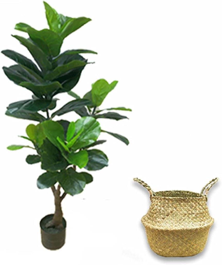 ROM Artificial Bonsai Tree 47 Ranking TOP19 Inch Fiddle Leaf High quality Fig Faux Ar