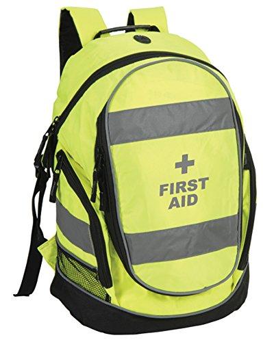Erste-Hilfe-Rucksack, hohe Sichtbarkeit für Erste-Hilfe-Leistende, Paramedici, Ambulanz, Medisches Personal