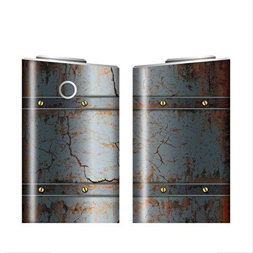 グローシール glo グロー シール glo グロー専用 スキンシール 電子タバコ ステッカー 07 メタル METAL 01-gl0045