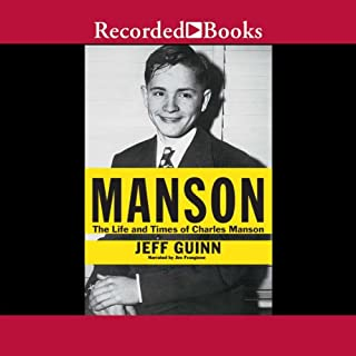 Manson audiobook cover art