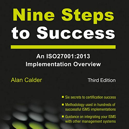 Nine Steps to Success audiobook cover art