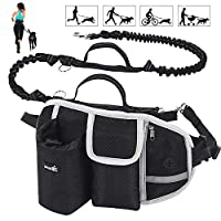 🐾 【Wide Support Waist Bag】: Designed with a wide back support belt, breathable mesh fabric, helps to reduce the pulling stress and protect your waist effectively. The walking pouch has multiple compartments, which can hold smartphones, bottles, keys,...