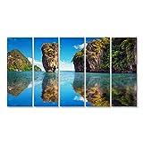 Bild Bilder auf Leinwand Schöne Natur von Thailand James